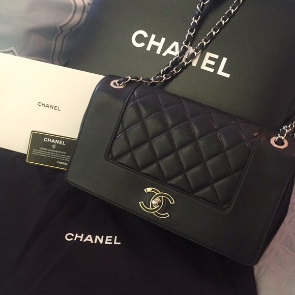 26a8fa8363c4 CHANEL Bags | Mademoiselle Vintage Flapbag Silver Metal | Poshmark